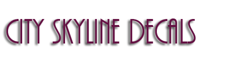 CitySkylineDecal.com (City Skyline Silhouette Decals)